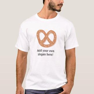 T-shirt Bretzel de pain : Slogan personnalisable
