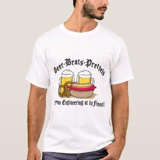 T-shirt Bretzels de gosses de bière allemands