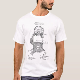 T-shirt Brevet des 1876 USA pour la scie à ruban d'Egan