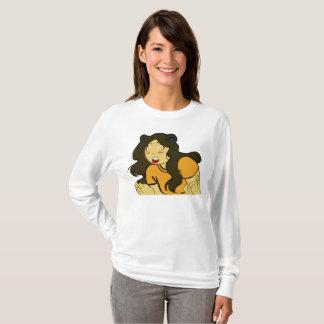 T-shirt Bri avec de longues douilles