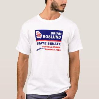 T-shirt Brian Roslund pour le sénat d'État de la Géorgie