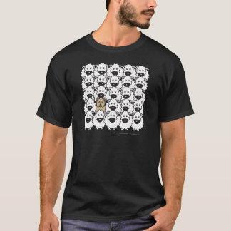 T-shirt Briard chez les moutons