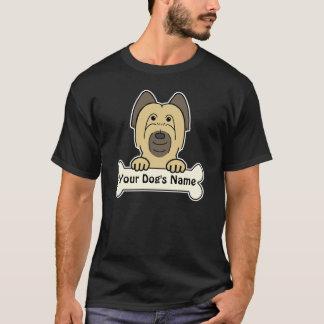 T-shirt Briard personnalisé