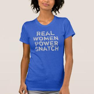 T-shirt Bribe de puissance de vraies femmes