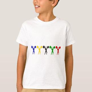 T-shirt Bribe d'haltérophilie propre - et - lancez les