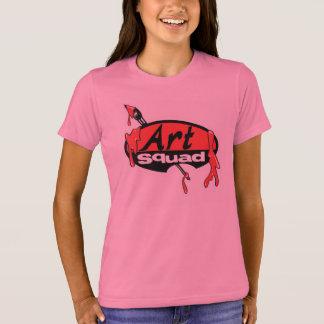 T-shirt Brights de peloton d'art