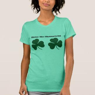 T-shirt Brillez-moi des shamrocks ! Chemise