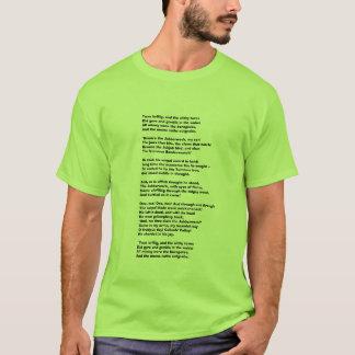 T-shirt Brillig de Twas, et le gyre slithy de tovesDid et…
