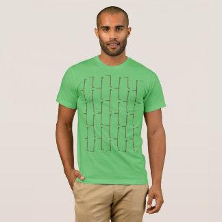 T-shirt Brique de gris d'herbe