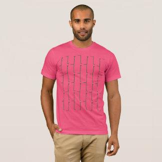 T-shirt Brique grise rose