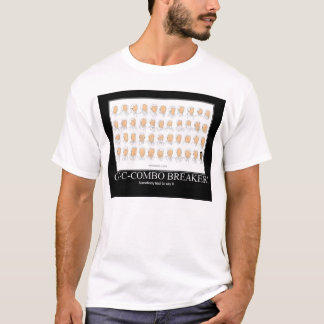 T-shirt briseur combiné d'obama de motivation