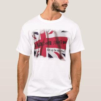 T-shirt BRITANNIQUE de drapeau des syndicats de