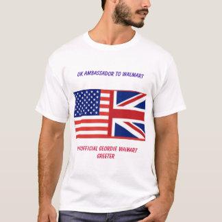 T-shirt BRITANNIQUE officieux de Walmart (ASDA)