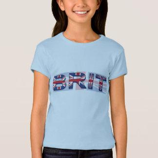 T-shirt Britannique, style d'Union Jack