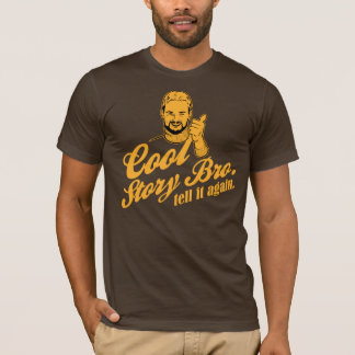 T-shirt bro frais d'histoire. dites-le encore