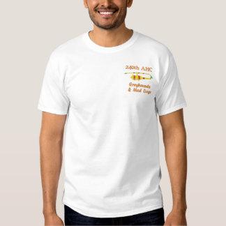 T-shirt Brodé 240th Chemise brodée par UH1 d'AHC Vietnam