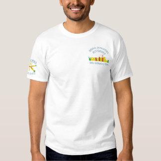 T-shirt Brodé 3/60th FNI. Chemise brodée par ATC riveraine