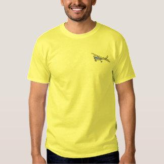 T-shirt Brodé À haute voilure