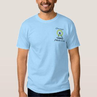 T-shirt Brodé Aikido brodé T d'Oswego