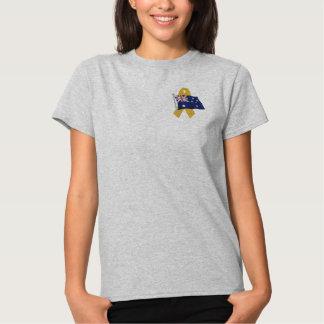 T-shirt Brodé Australien - soutenez nos troupes