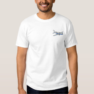 T-shirt Brodé Avion