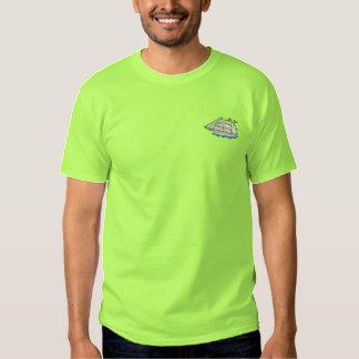 T-shirt Brodé Bateau de tondeuse