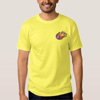 T-shirt Brodé Boule 8 de flamber