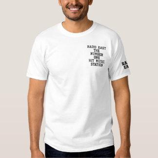 T-shirt Brodé Broderie est par radio