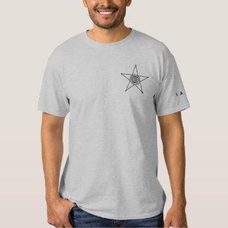 T-shirt Brodé Broderie T unisexe