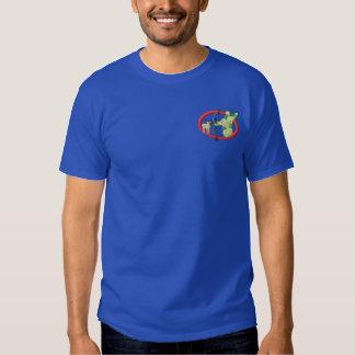 T-shirt Brodé Chasse d'arc
