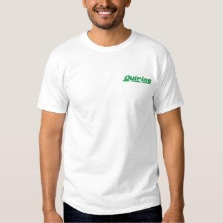 T-shirt Brodé Chemise brodée
