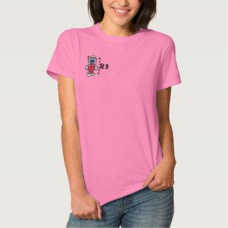T-shirt Brodé Chemise brodée par infirmière retirée