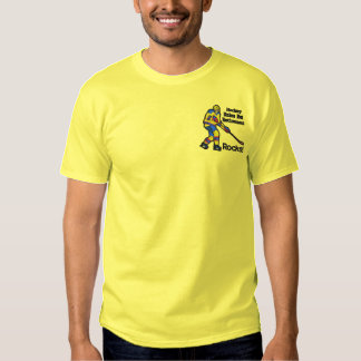 T-shirt Brodé Chemise brodée par retraite d'hockey