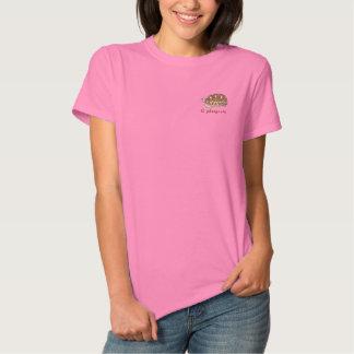 T-shirt Brodé Chemise de tortue d'étoile de Birman (broderie)