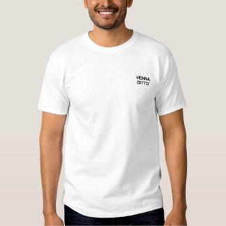 T-shirt Brodé Chemise idem brodée de Vienne