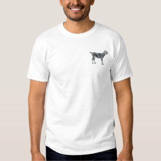 T-shirt Brodé Chèvre de Nubian