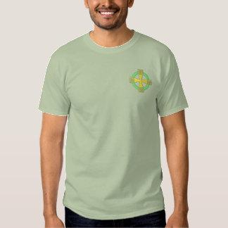 T-shirt Brodé Croix celtique