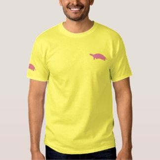 T-shirt brodé de tortue
