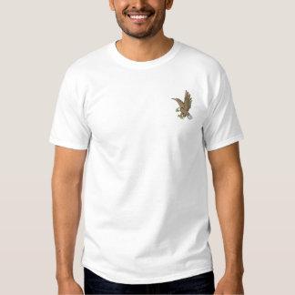 T-shirt Brodé Eagle en vol