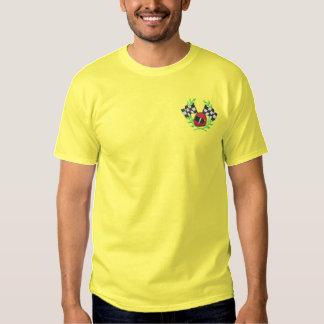 T-shirt Brodé Emballage de la crête