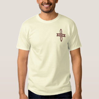 T-shirt Brodé Étoile brodée de mariage - grande