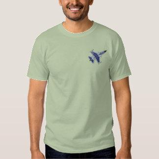 T-shirt Brodé Faucon F-16