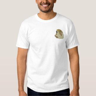 T-shirt Brodé Faucon pérégrin