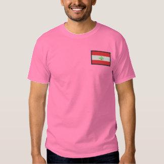 T-shirt Brodé Le Liban