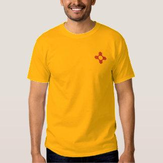T-shirt Brodé Le Nouveau Mexique Zia