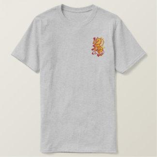 T-shirt Brodé Lion effréné
