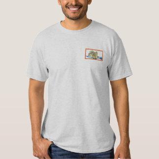 T-shirt Brodé Loutre de mer