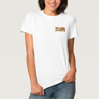 T-shirt Brodé Oiseau celtique