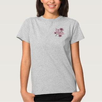 T-shirt Brodé Papillon à jour