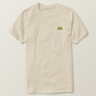T-shirt Brodé Pièce en t brodée par logo de couronne de WtC